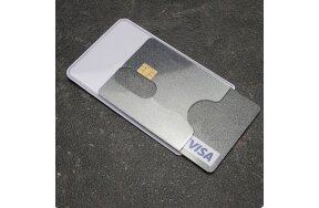ΘΗΚΗ ΠΙΣΤΩΤΙΚΗΣ ΚΑΡΤΑΣ RFID SECURE ΛΕΥΚΗ 59x88/91mm